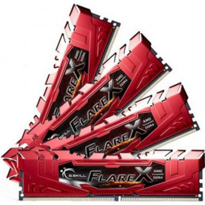G.Skill Flare X DDR4 2400MHz 4x16GB for AMD (F4-2400C16Q-64GFXR)