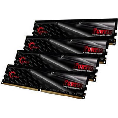 G.Skill Fortis DDR4 2400MHz 4x16GB for AMD (F4-2400C16Q-64GFT)