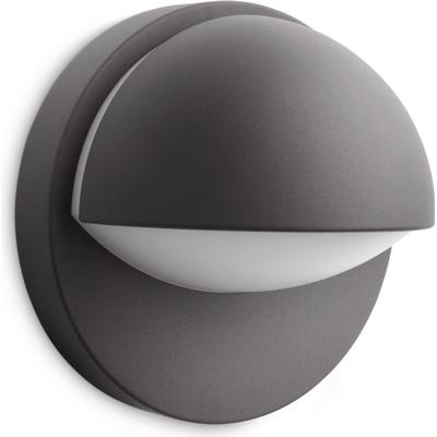 Philips My Garden Anthracite Outdoor Wall Light Vägglampa, Utomhusbelysning