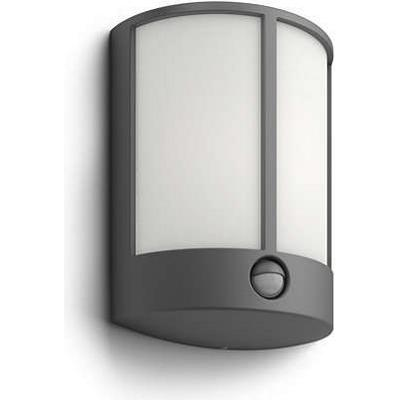 Philips Stock IR Anthracite LED Outdoor Wall Light Vägglampa, Utomhusbelysning