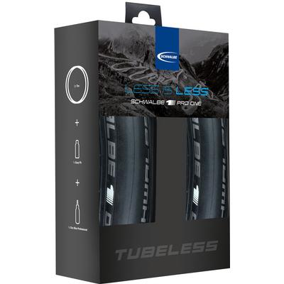 Schwalbe Pro One Tubeless-Set 28x25C (25-622)