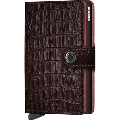 Secrid Mini Wallet - Nile Brown