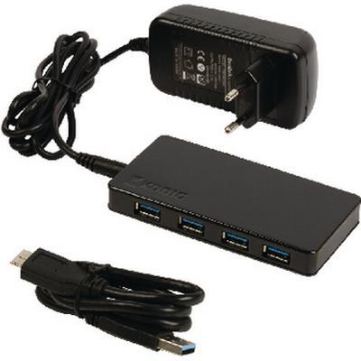 Konig CSU3H4P200 4-Port USB 3.0/3.1 Extern