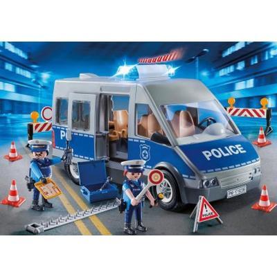Playmobil Policemen with Van 9236