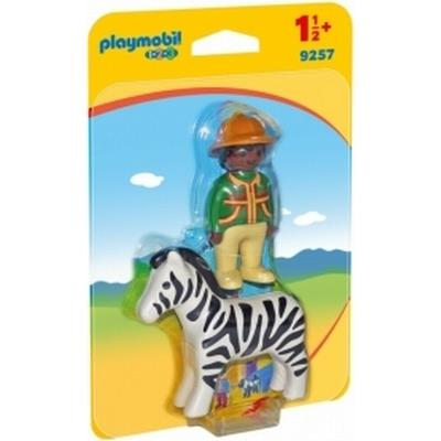 Playmobil Ranger with Zebra 9257