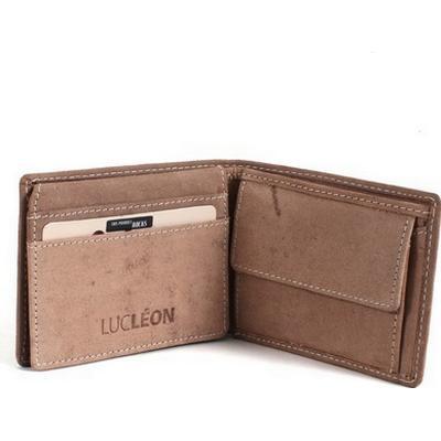 Lucléon My Wallet - Brown