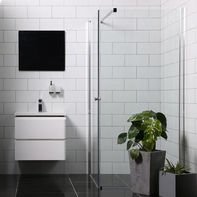 Bathlife Versatile Duschhörna 900x800mm