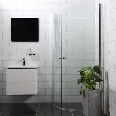 Bathlife Versatile Duschhörna 800x800mm