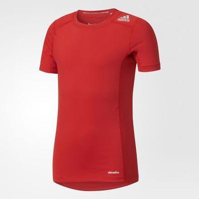 Adidas Techfit Base T-shirt - Power Red (AK2825)