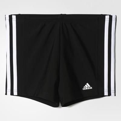 Adidas 3-Stripes Swim shorts - Black / White (BP9500)