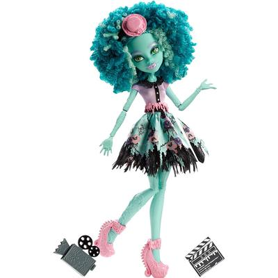 Monster High Frights Camera Action Hauntlywood Doll Honey Swamp