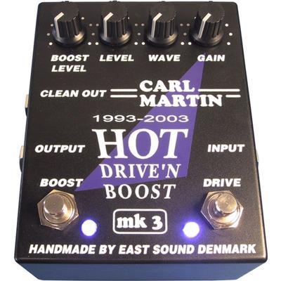 Carl Martin Hot Drive'n'Boost MK3