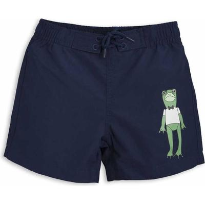 Mini Rodini Frog Sp Swimshorts - Navy