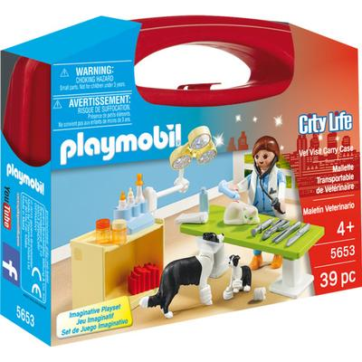 Playmobil Vet Visit Carry Case 5653