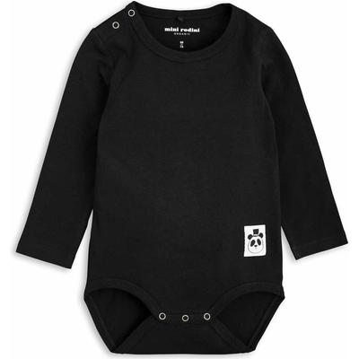 Mini Rodini Basic Long Sleeve Body - Black