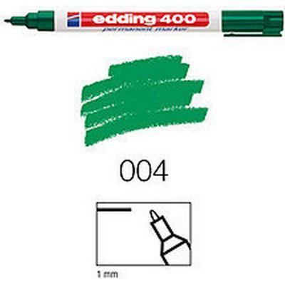 Edding 400 Marker 1mm Round Tip Green