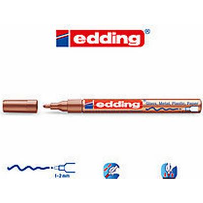 Edding 751 Paint Marker 1-2mm Copper