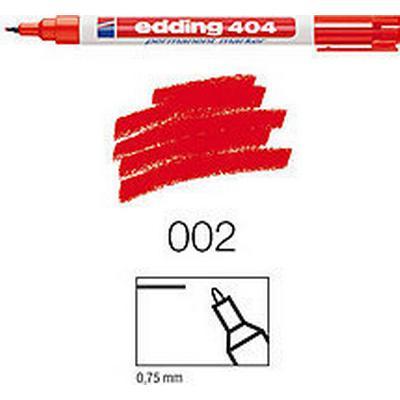 Edding 404 Marker 0.75mm Round Tip Red