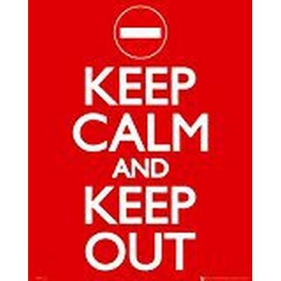 GB Eye Keep Calm Keep Out 40x50cm Affisch