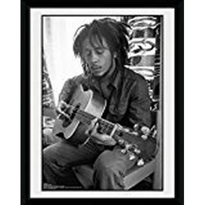GB Eye Bob Marley Guitar Collector 15x20cm Affisch