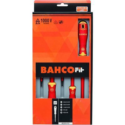 Bahco B220.015 Pozidrive, Slot Set 5-enheder