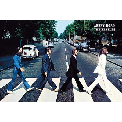 GB Eye The Beatles Abbey Road Maxi 61x91.5cm Affisch