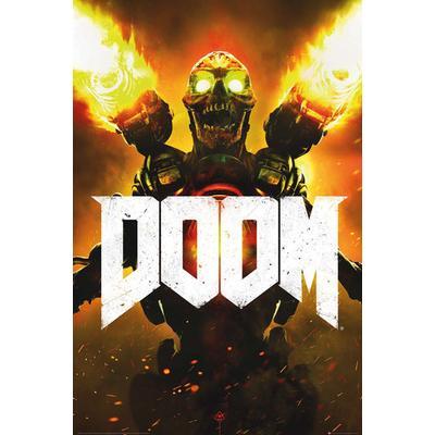 GB Eye Doom Key Art Maxi 61x91.5cm Affisch