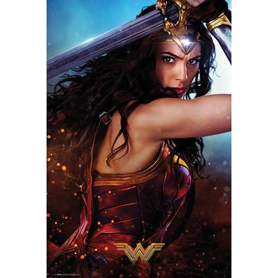GB Eye Wonder Woman Defend Maxi 61x91.5cm Affisch