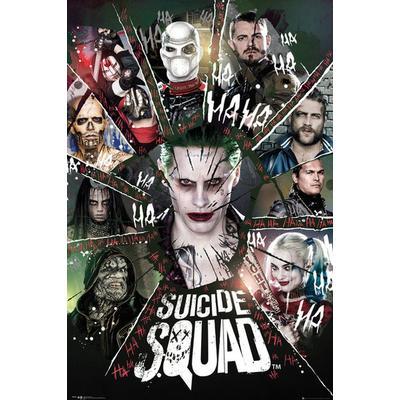 GB Eye Suicide Squad Circle Maxi 61x91.5cm Affisch