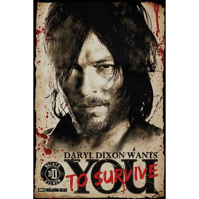 GB Eye The Walking Dead Daryl Needs You Maxi 61x91.5cm Affisch