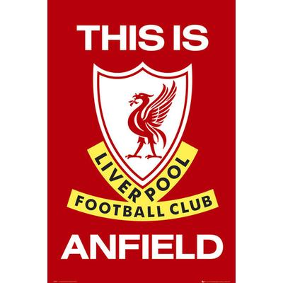 GB Eye Liverpool This is Anfield Maxi 61x91.5cm Affisch