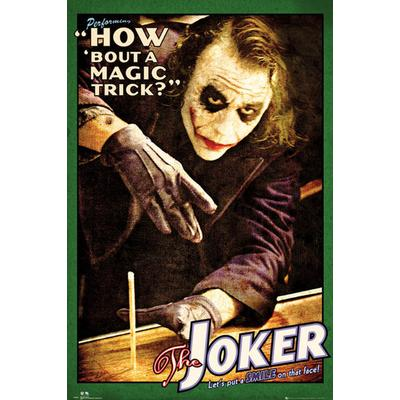GB Eye Batman the Dark Knight Joker Trick Maxi 61x91.5cm Poster Affisch