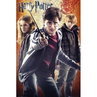 GB Eye Harry Potter Trio Maxi 61x91.5cm Affisch