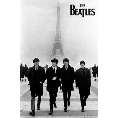 GB Eye The Beatles In Paris Maxi 61x91.5cm Affisch