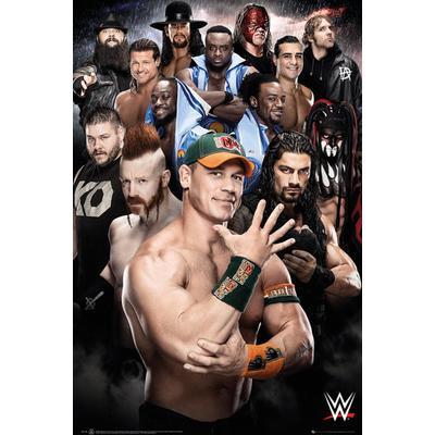 GB Eye WWE Superstars 2016 Maxi 61x91.5cm Affisch