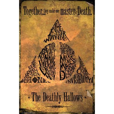 GB Eye Harry Potter Deathly Hallows Maxi 61x91.5cm Affisch