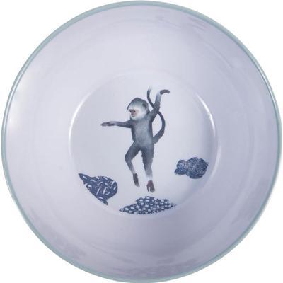 Sebra Melamine Bowl In The Sky, Cloud Blue