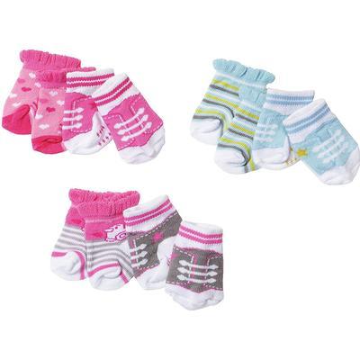 Zapf Baby Born Socks 2 Pack
