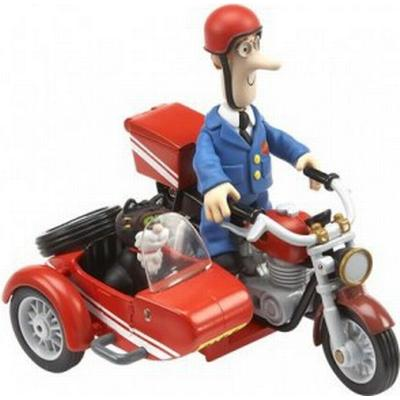 Postman Pat SDS Motorbike & Sidecar with Accessories