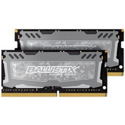 Crucial Ballistix Sport LT DDR4 2666MHz 2x4GB (BLS2C4G4S26BFSD)