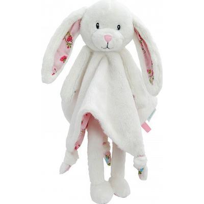 Little Dutch Cuddle Cloth Large Rabbit Pink Blossom