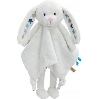 Little Dutch Cuddle Cloth Large Rabbit Mixed Stars Mint