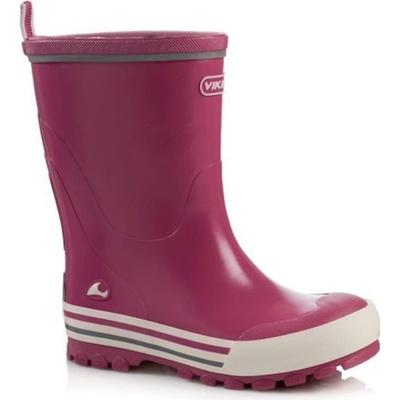 Viking Jolly Rubber Boots Fuchsia/White