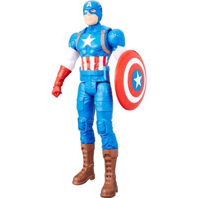 "Hasbro Marvel Titan Hero Series 12"" Captain America Figure"