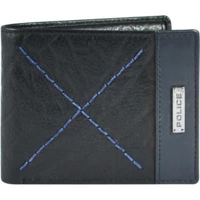 Police Tolerance Slim Wallet - Brown/Black (PT018121)