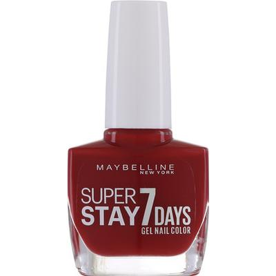 Maybelline Superstay 7 Days Gel Nail Color #06 Deep Red