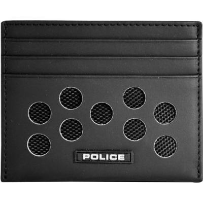 Police Hot Shots Card Case - Black (PT028257)