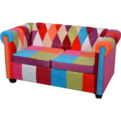 vidaXL Chesterfield 2 Seater Sofa Chesterfieldsoffa