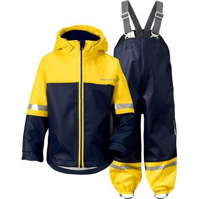 Didriksons Waterman Kid's Regnställ - Yellow (500495-050)