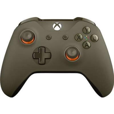 Microsoft Xbox Wireless Controller - Green/Orange (Xbox One)